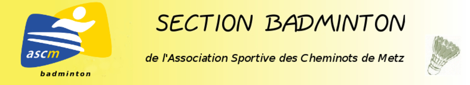 Association Sportive des Cheminots de Metz section badminton